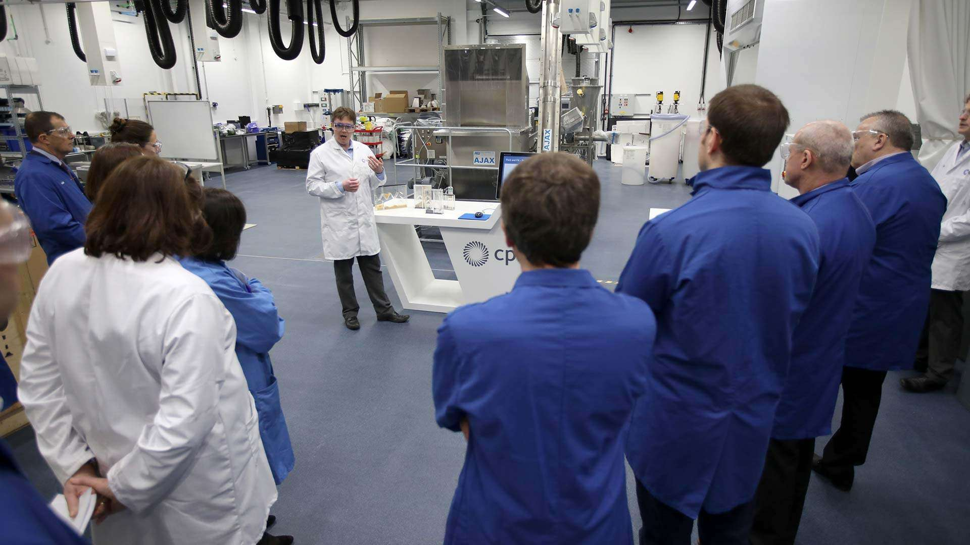 Lab Tours at the National Formulation Centre