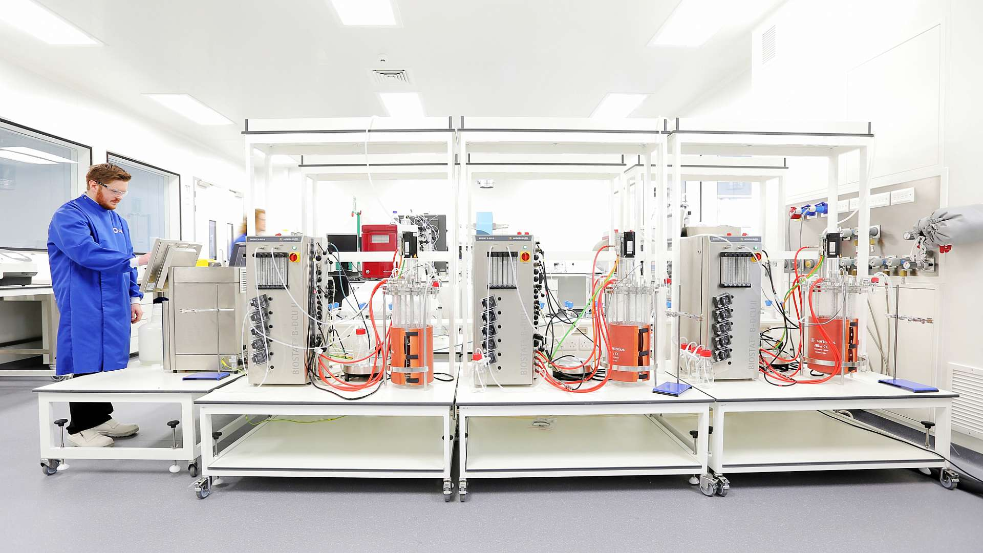 The prototype crystalliser, due to be installed at CPI's Darlington biologics facility, will complement existing cutting-edge equipment, shown above