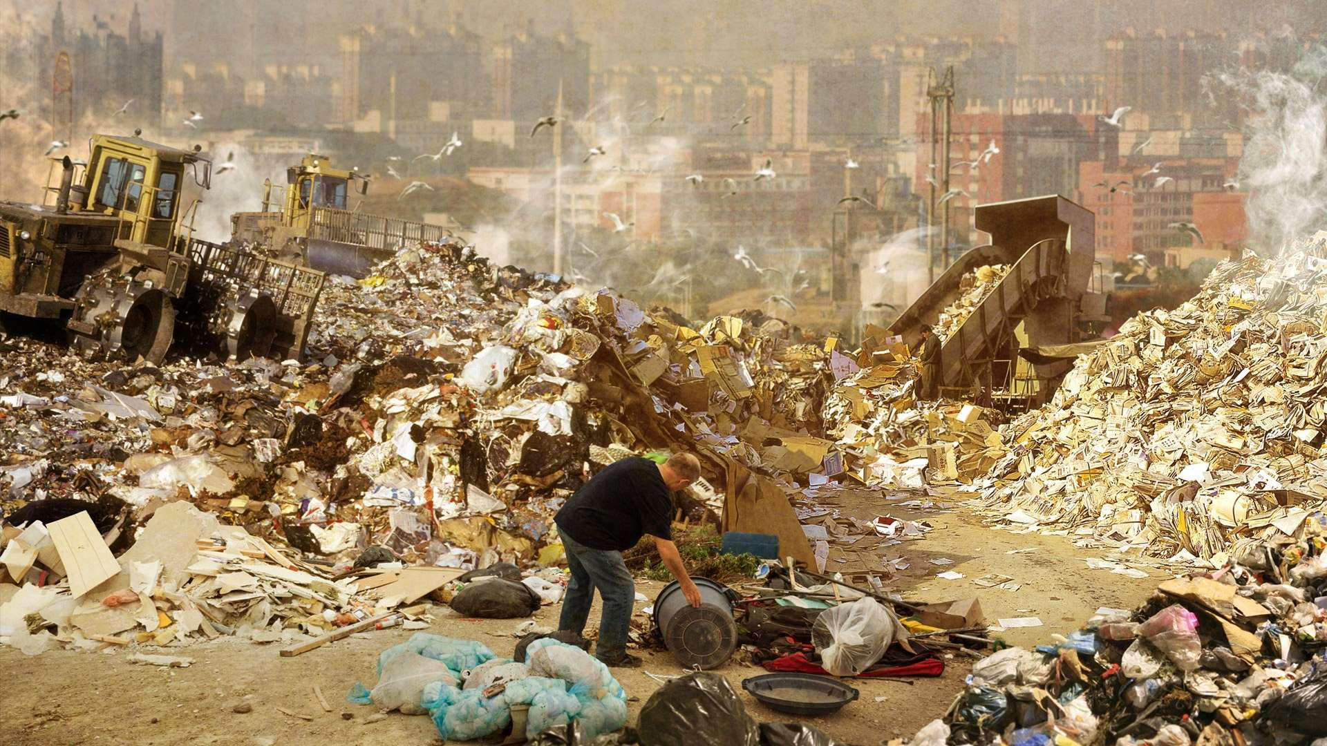 The waste problem is growing with little understanding of how best to control it