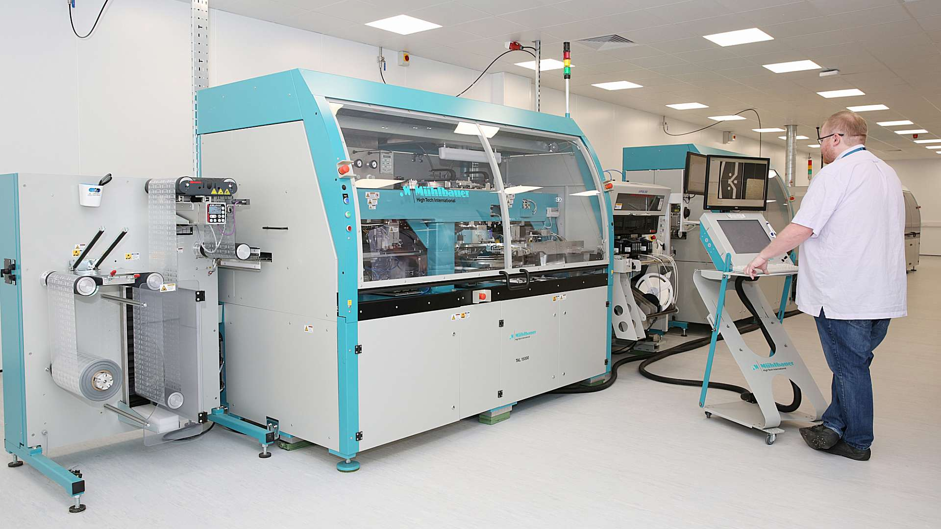 CPI's printable electronics facility houses unique, roll-to-roll manufacturing capabilities.