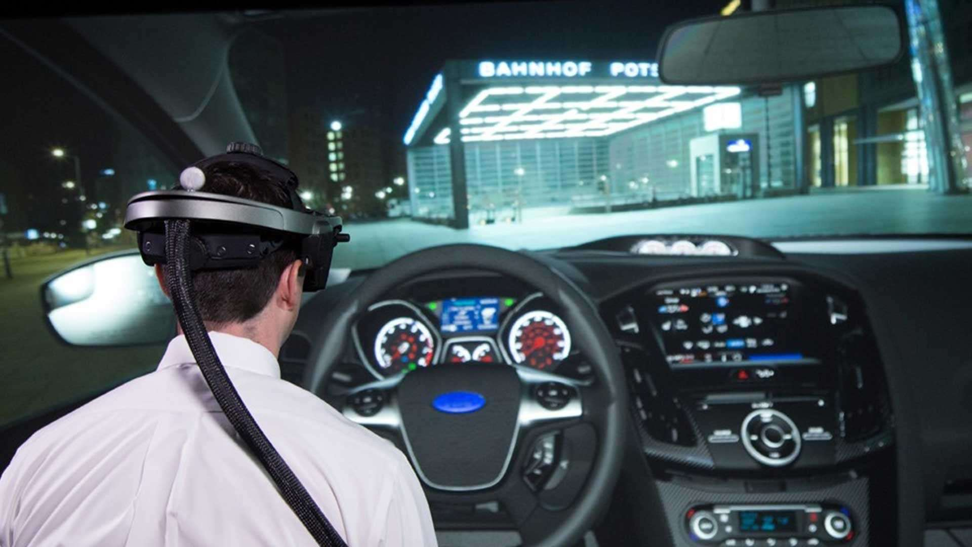 Ford is using virtual reality to evaluate car components in its VR lab