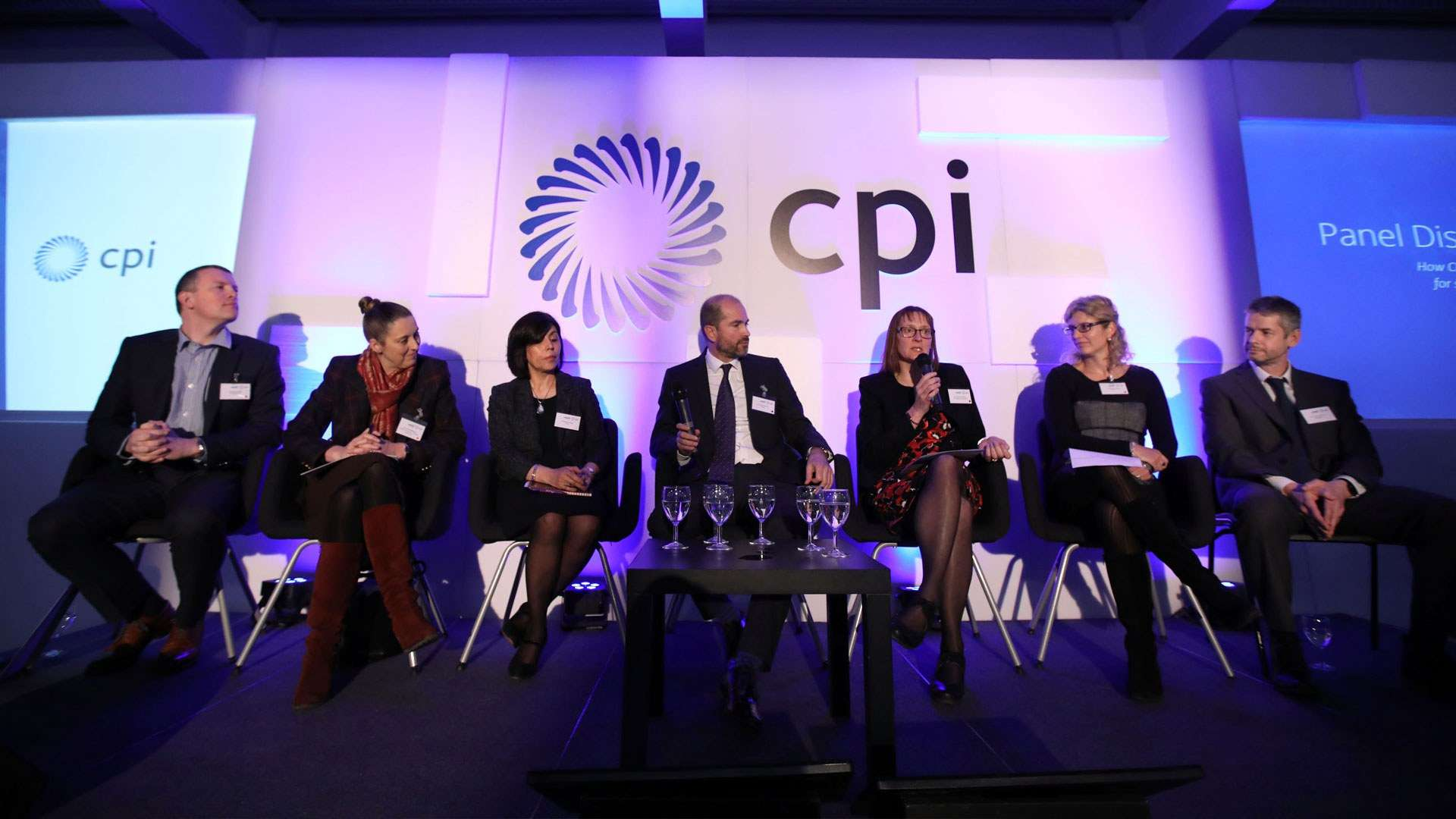 A panel discussion takes place on how CPI addresses the need for support in formulation