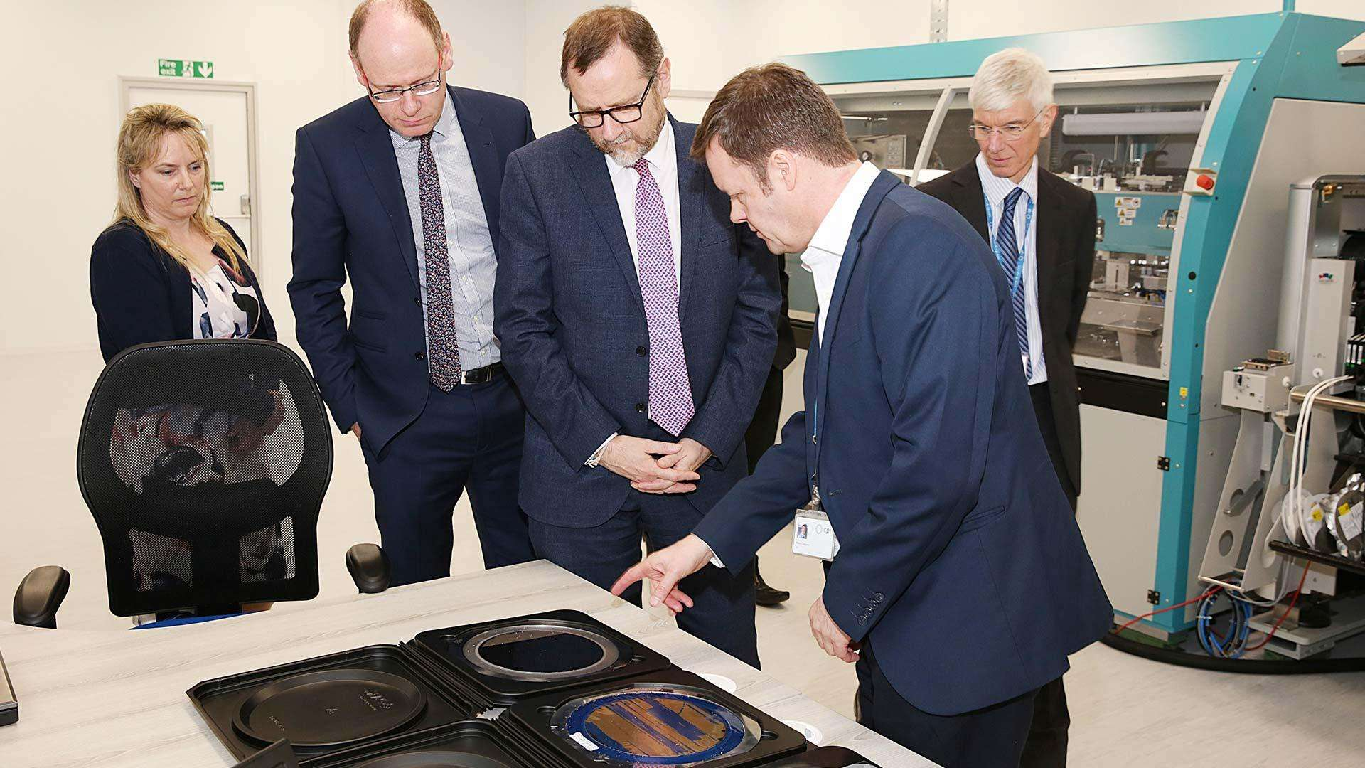 Touring the Newton Aycliffe Facility