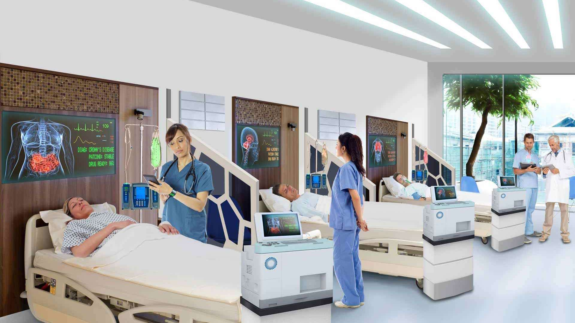 Digital technology offers a wealth of benefits for the world's healthcare systems