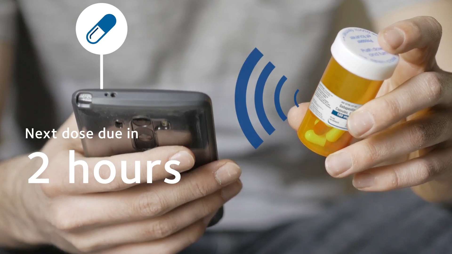 A photo of smart pharmaceutical packaging
