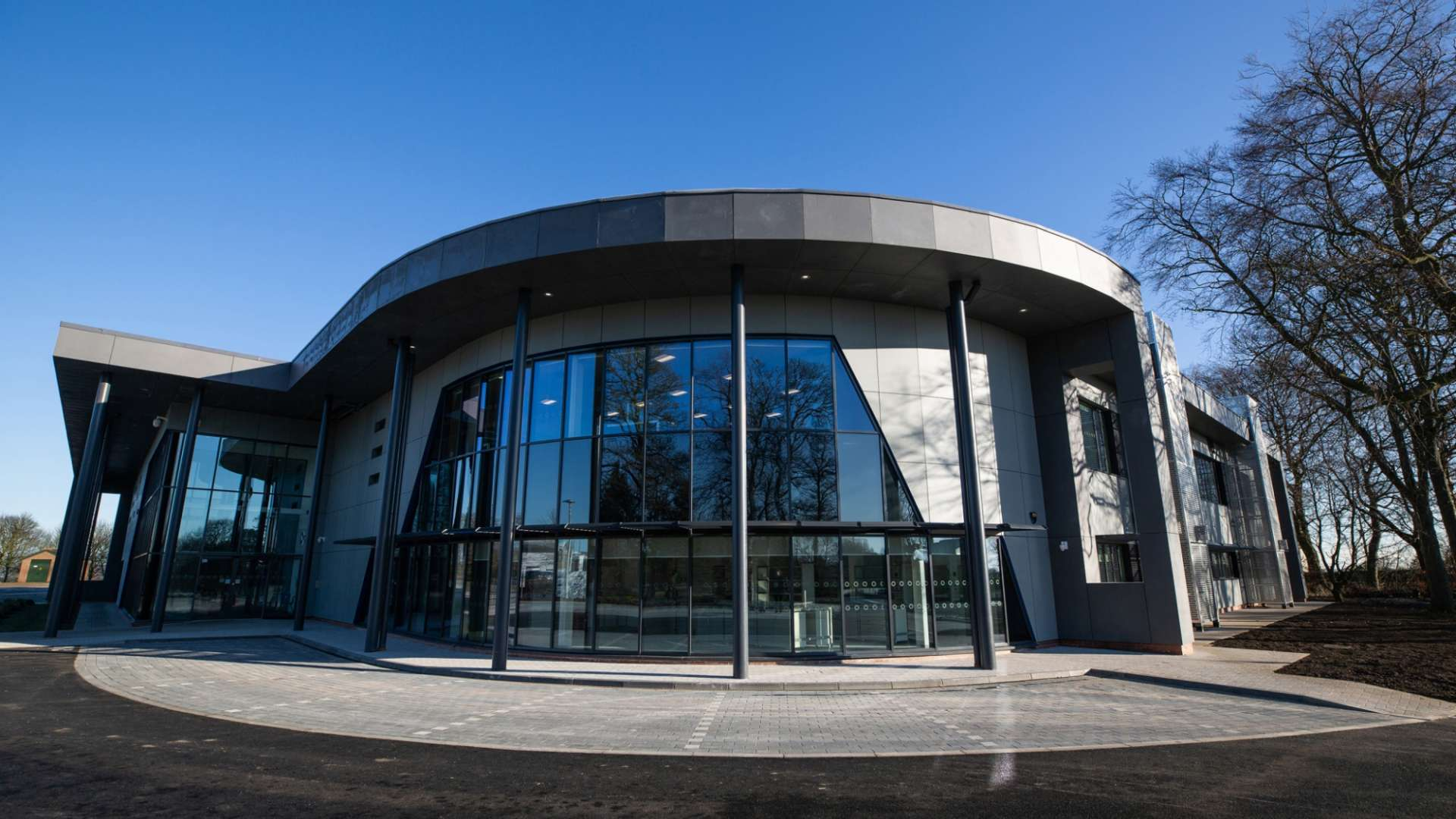 A photo of the National Healthcare Photonics Centre