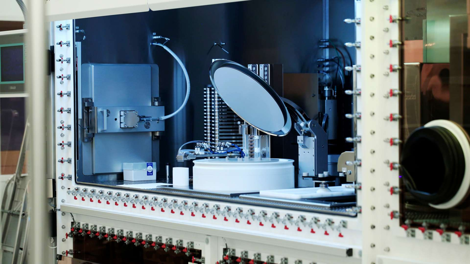 A photo of specialist printed electronic coating kit at CPI