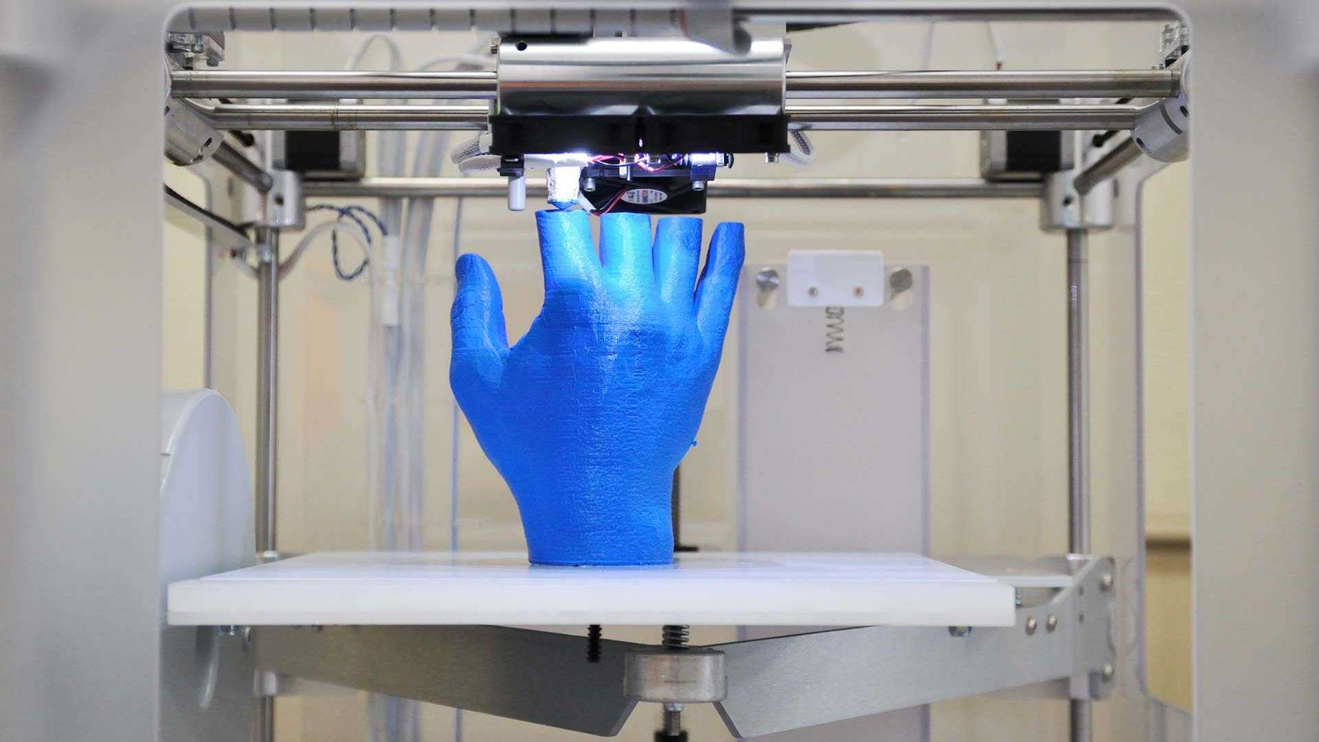 A 3D printed hand - not just for artists 3D printing could change manufacturing