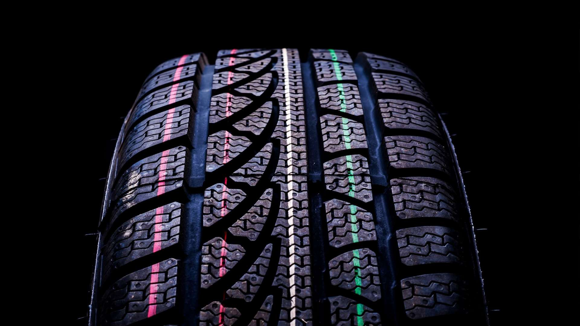 Photo of a car tyre