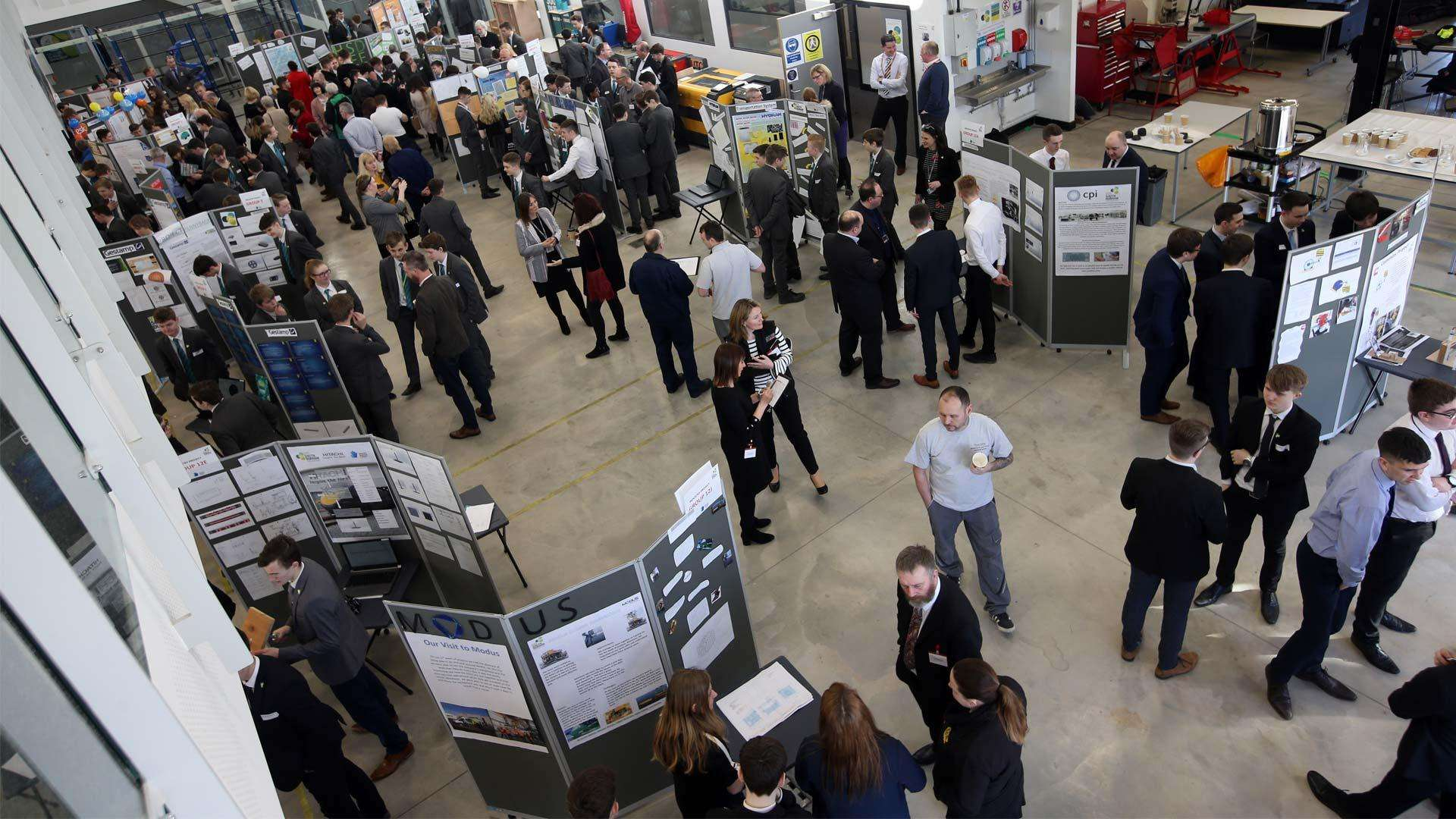 The Centre for Process Innovation helped students at University Technical College South Durham in the Industry Projects scheme